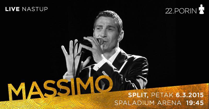Massimo je potvrdio nastup na ovogodišnjem Porinu